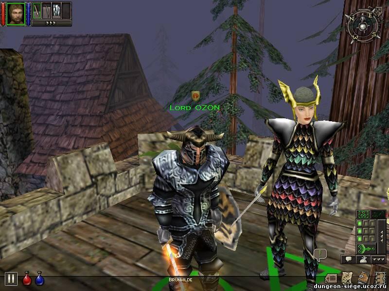 Прохождение dungeon siege the lands of hyperborea